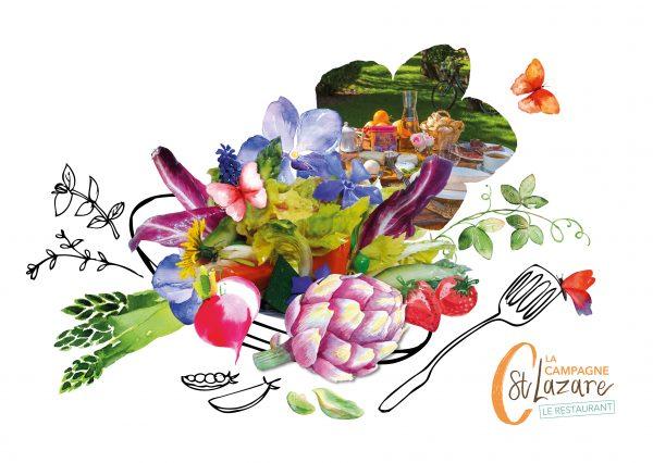 Saison printemps gastronomie