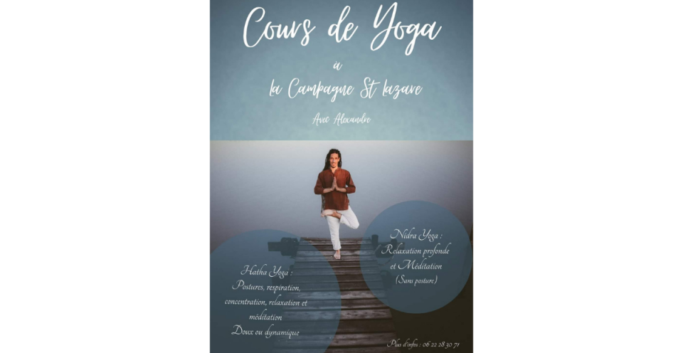 Alexandre Novakovic - Yoga - La Campagne St Lazare